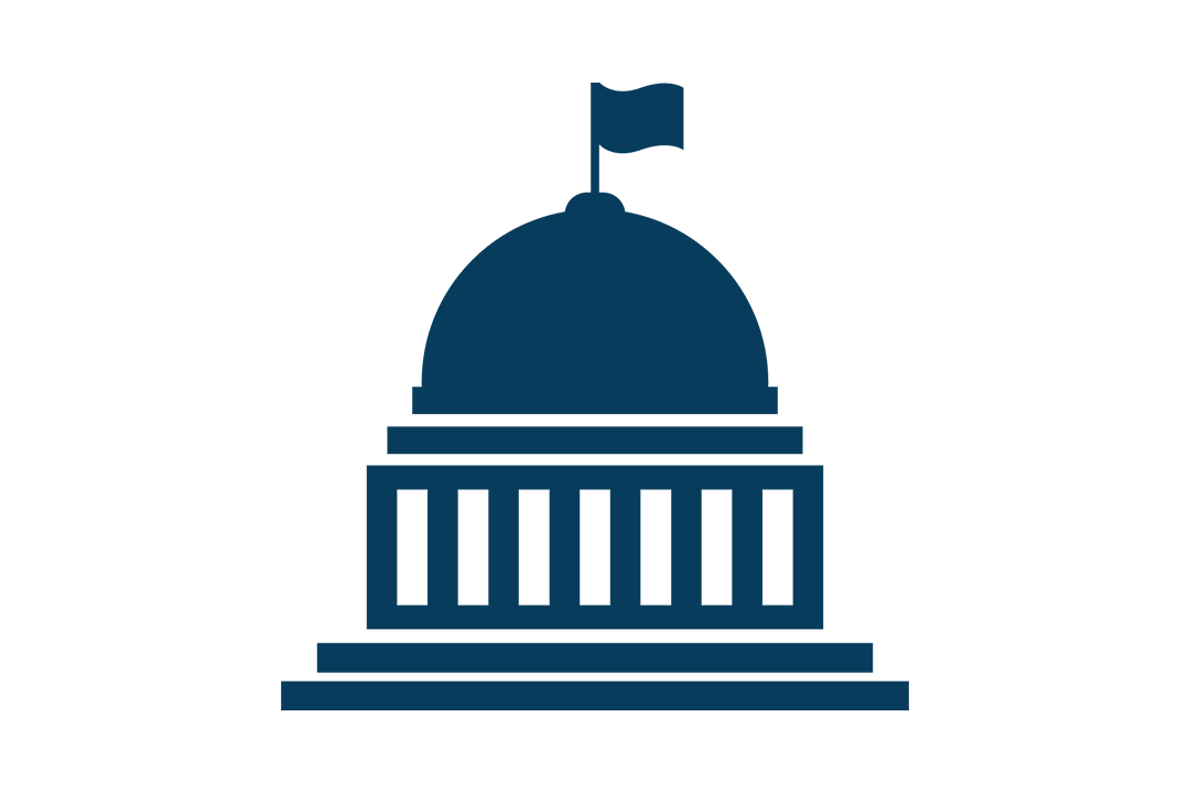 Graphic of the silhouette of the Capitol building