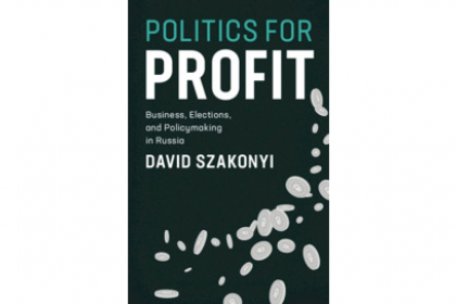 Cover of Politics for Profit