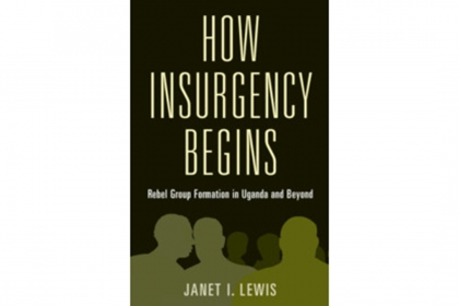 Cover of Dr. Lewis's How Insurgency Begins